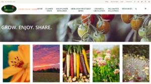 screenshot of BBB Seed website