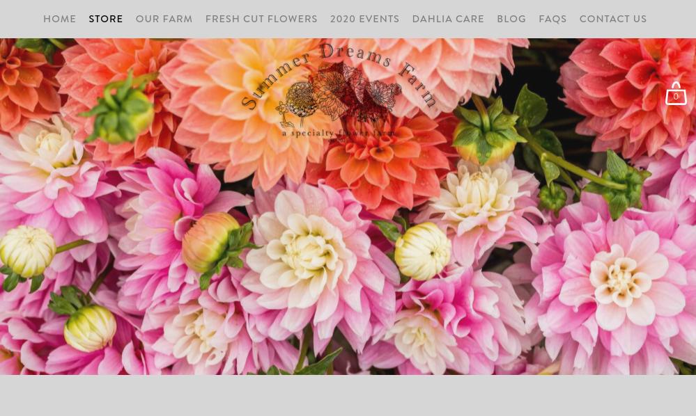 screenshot of Summer Dreams Farm website
