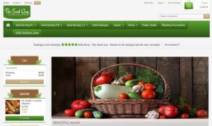 screenshot of Dan the Seed Guy website