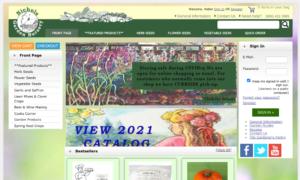 screenshot of Nichols Garden Nursery website