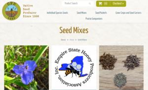 screenshot of OPN Seed website
